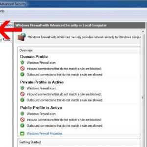 تعریف پورت های اسکیوال در فایروال