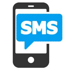 ارسال پیامک در قسمت های مختلف